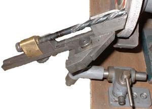 Шаблон для заточки сверла по металлу