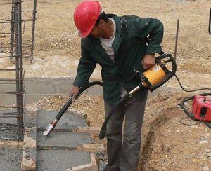 Как используется строительный вибратор