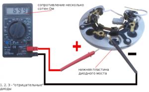 Почему не работает диодный мост генератора